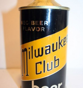 Milwaukee Club Beer